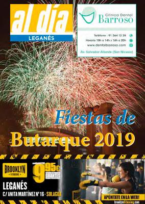 Programa de fiestas de Leganés, agosto 2019
