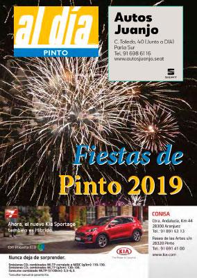 Programa de Fiestas de Pinto, Agosto 2019
