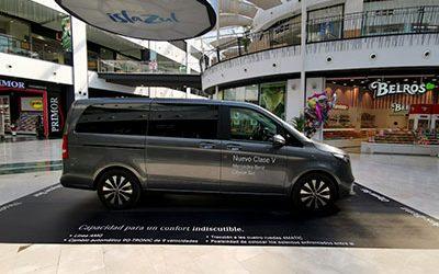 Presentación nuevo Mercedes Clase V en Islazul