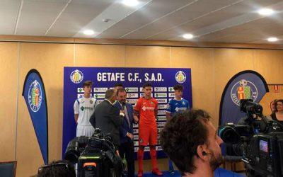 Presentación de la nueva equipación del Getafe C.F.